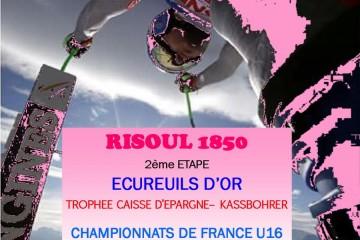 [Annulé] Ecureuils d'Or & Championnat de France U16 2020 - Risoul