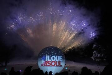 Feu d'Artifice 31 décembre 2020 Risoul