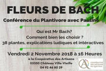 Conférence Fleurs de Bach