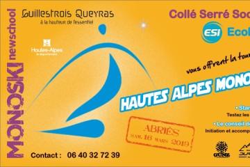 Hautes Alpes Mono Tour 2019 - Etape 2 Abriès