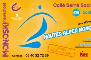Hautes Alpes Mono Tour 2019 - Etape 1 Vars
