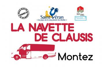 Navette de Clausis 2019 - Horaires et tarifs