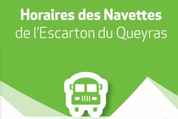 Navettes Escarton - Bus Inter-Village Ete 2021