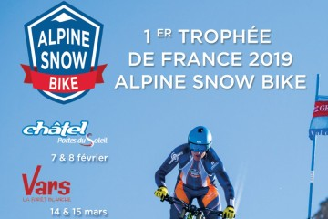 Alpine Snow Bike 2019 - Etape de Vars