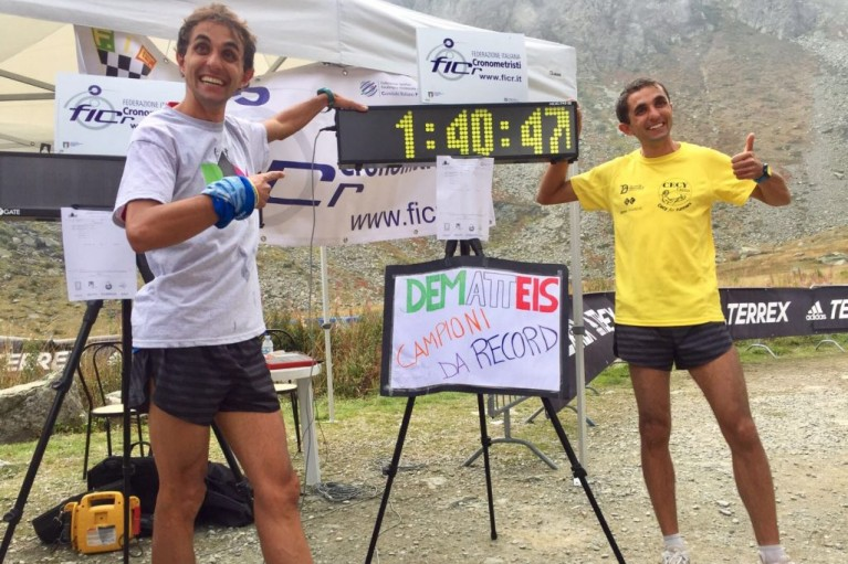 record dematteis viso time record