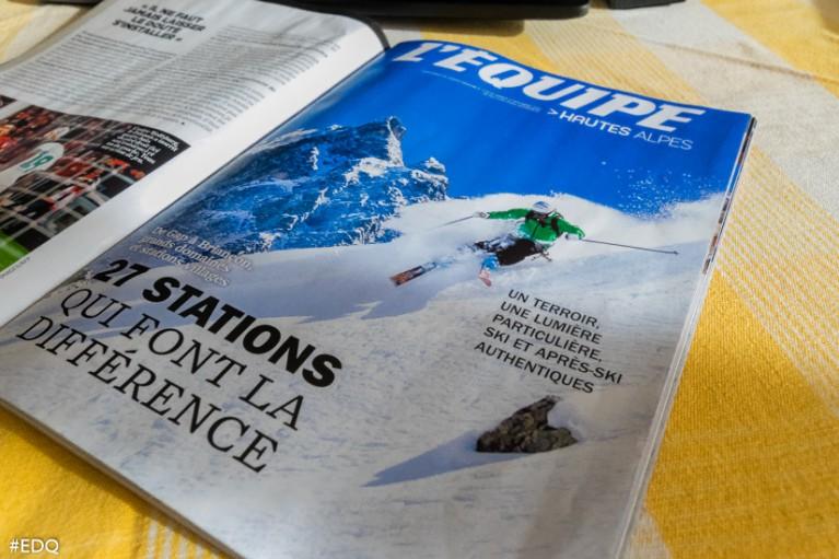 Le supplément de L'Equipe Magazine Hautes-Alpes 2015