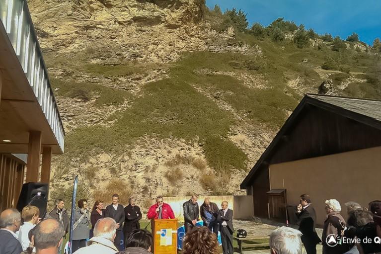 discours joel giraud inauguration nouvell office de tourisme du queyras