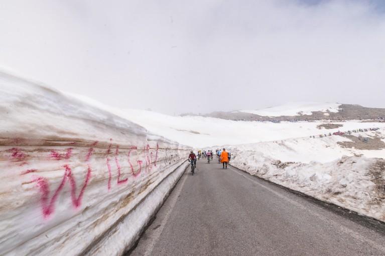 mur de neige montee agnel tifosi