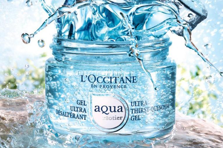 occitane creme aqua reotier