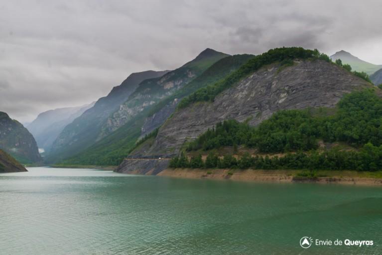 route rs1091 vue depuis barrage