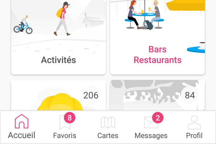 user bar apps juillet 2017